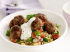 Homemade Meatballs with Couscous Salad