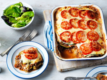 Full Flavoured Healthy Lasagne